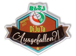 Pin bedruckt - BdSJ Wegberg