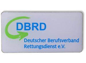 Pin bedruckt - DBRG