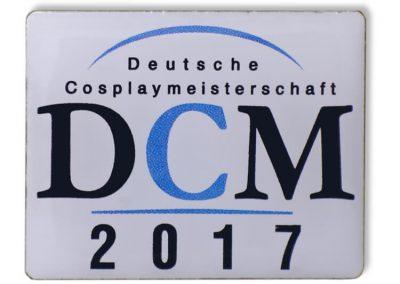 Pin bedruckt - DCM