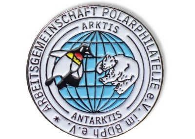 Pin geprägt - Arktis