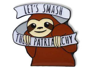 Pin geprägt - Lets Smash