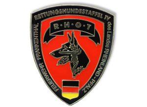 Pin geprägt - Rettungshundestaffel