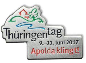 Pin geprägt - Thüringentag