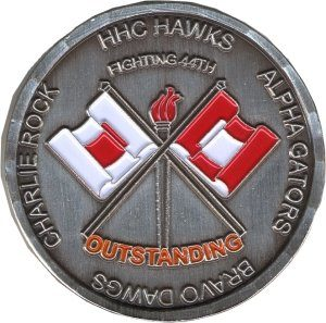 Coin Outstanding Front
