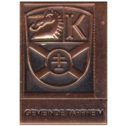 Reliefabzeichen Tapfheim