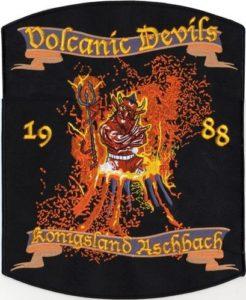Stickabzeichen Volcanic Devils