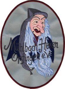 Stickabzeichen Mühlbach Hexen
